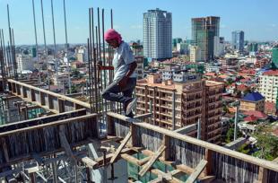 Campuchia: Đầu tư xây dựng tăng mạnh