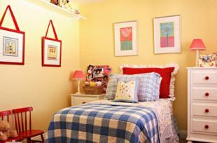 Treo tranh trong phòng ngủ con trẻ, bố mẹ tuyệt đối đừng mắc những sai lầm