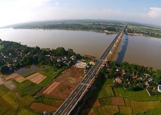 Đề xuất 'siêu' dự án giao thông thủy xuyên Á trên sông Hồng
