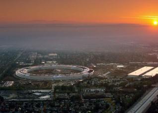 Chiêm ngưỡng trụ sở phi thuyền 5 tỷ USD của Apple