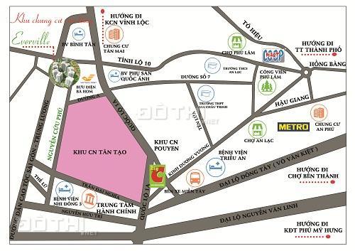 Căn hộ Tecco Bình Tân - Chỉ 100 triệu/căn 2 PN 7219646