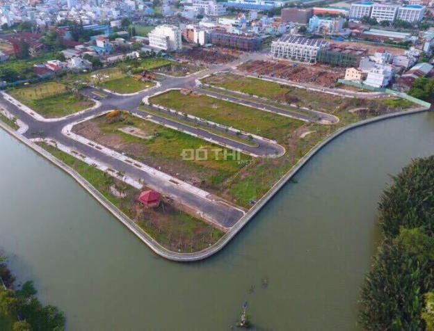 Bán nhà phố biệt thự ven sông, 1 trệt, 3 lầu, mặt tiền 30m, liền kề quận 1, chỉ TT 35% nhận nhà 7344168