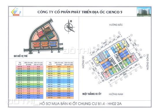 Bán chung cư giá rẻ Thanh Hà Mường Thanh giá gốc từ 9.5 tr/m2. LH: 098.678.8881 6949055