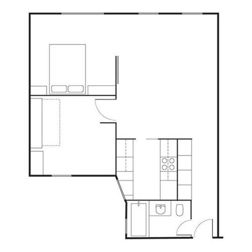 Bản vẽ không gian căn nhà.