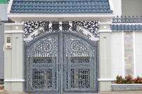 Tham khảo 10 mẫu cổng sắt đẹp cho nhà phố hiện đại