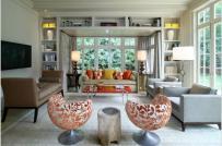 Những ý tưởng bài trí phòng khách đẹp với ghế ngồi
