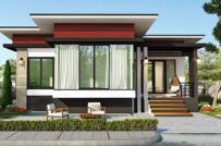 Những mẫu nhà mái bằng đơn giản, gọn đẹp với kinh phí khoảng 900 triệu đồng