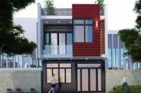 Những mẫu nhà 6x10m được thiết kế theo phong cách hiện đại, hài hòa với cảnh quan