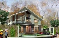 Những mẫu nhà 2 tầng mái lệch được xây dựng nhiều nhất hiện nay