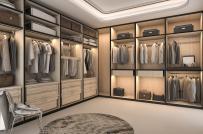 15 mẫu phòng thay đồ đẹp không kém cửa hàng thời trang