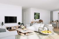 Mẫu thiết kế nội thất căn hộ 67m2 tiện nghi, thoáng sáng với kinh phí 173 triệu đồng