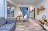 Cách phối màu tinh tế trong căn hộ phong cách Retro