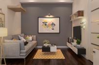 Tư vấn thiết kế nội thất căn hộ 47m2 với kinh phí 100 triệu đồng