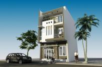 Tư vấn thiết kế nhà 3 tầng kết hợp kinh doanh trên diện tích 80m2