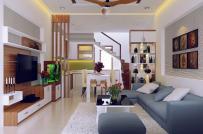 Kiến trúc sư tư vấn thiết kế nhà ống 2 tầng 2 phòng ngủ, diện tích 90m2