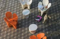Tạo điểm nhấn cho sân vườn mùa hè với ghế ngồi ngoài trời độc đáo