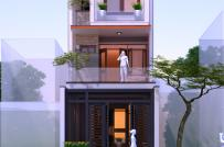 Mẫu thiết kế nhà lô 3 tầng tiện nghi cho gia đình 3 thế hệ, diện tích 5x22m
