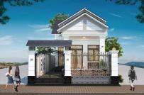 Gợi ý thiết kế nhà vườn 1 tầng tiết kiệm chi phí dành cho gia đình trẻ