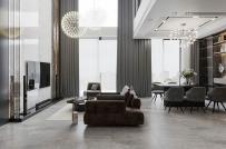 Không gian sống hiện đại - độc đáo - sang trọng trong căn hộ Duplex 160m2