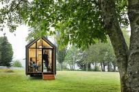 Nhà ở hiệu quả và bền vững: Nhà cabin di động, sử dụng năng lượng mặt trời