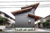 Ngôi nhà Nhật với hệ mái phá cách