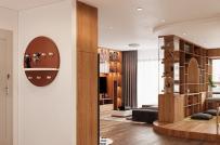 Phong cách nội thất Nhật Bản tinh tế trong căn hộ 150m2 đập thông