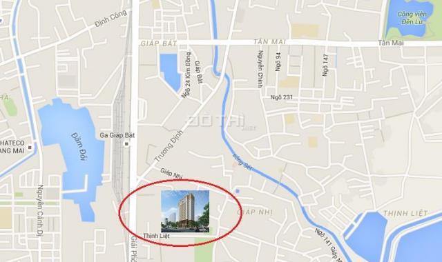 Dự án 89 Thịnh Liệt, Hoàng Mai, HN, chung cư, giá rẻ