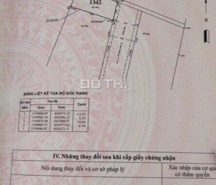 Bán đất tại Sơn Ca, khu chị Tuyền, Phường An Phú Đông, Quận 12, diện tích 90,8m2. Giá 46 tr/m2