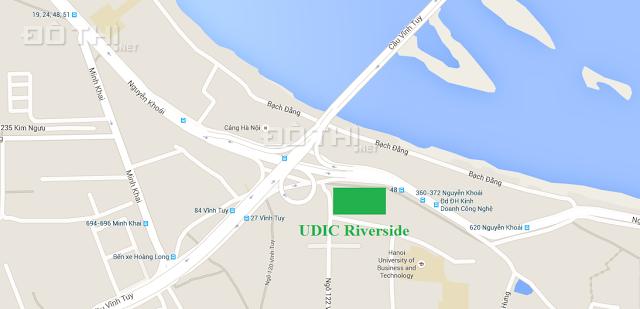 Bán đợt cuối căn 2 - 3PN UDIC Riverside 122 Vĩnh Tuy trực tiếp CĐT, quà tặng lớn