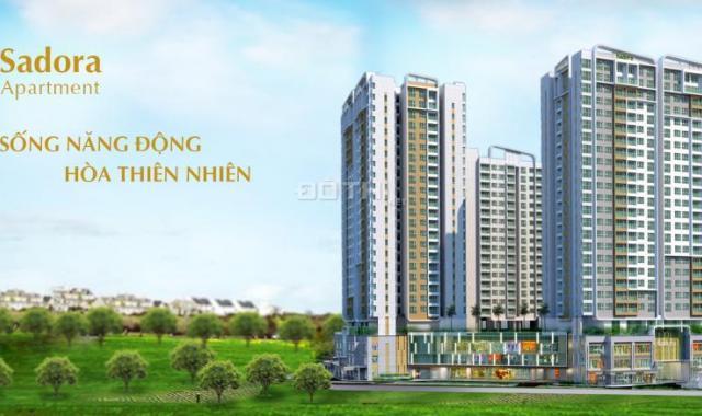 Bán căn Sadora Đại Quang Minh, Quận 2, 120m2, lầu thấp view hồ bơi, giá 6,3 tỷ. 0902.601.689