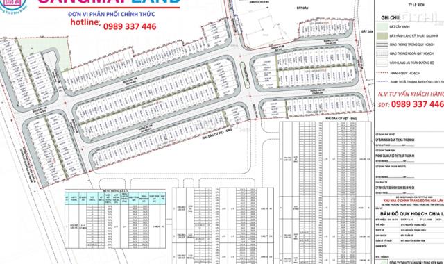 Dự án Hòa Lân 2, gần Aeon, VSIP 1 mở rộng, giá 1.1 tỷ/nền, 0989 337 446 zalo