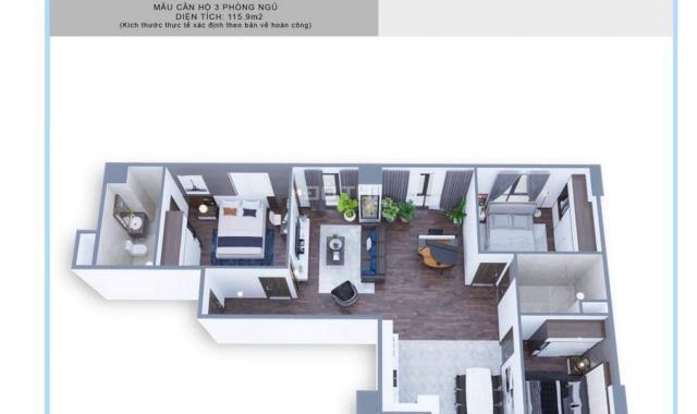 CSBH tốt nhất dự án tòa tháp Thiên Niên Kỷ - Hà Tây Millenium cho căn hộ 2PN - 3PN. Trực tiếp CĐT