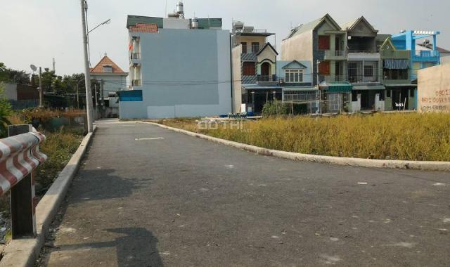 Bán đất trong KDC Tân Đô, giá rẻ, sổ hồng