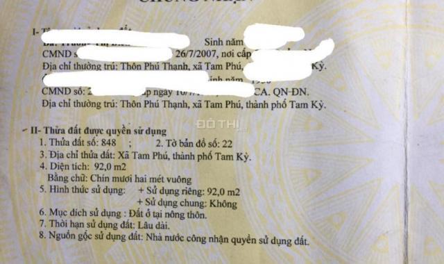 Bán lô đất CC ngay ngã tư đường Duy Tân và Lê Thánh Tông. Cách tượng đài Mẹ Việt Nam Anh Hùng 100m