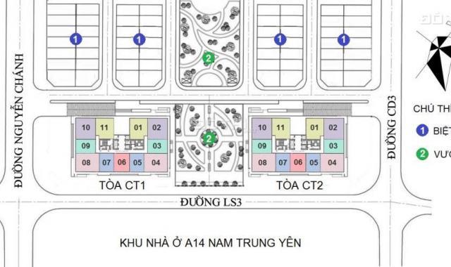 Giá tốt căn hộ các tầng 5, 6 CT2, 32 CT1, chung cư A10 Nam Trung Yên, Cầu Giấy (0965.888.360)