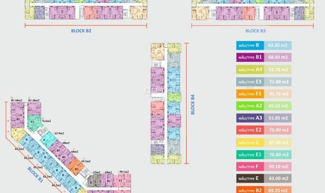 Mở bán block B1 dự án Green Town Bình Tân, giá 1.75 tỷ/căn, 2PN, 2WC, hỗ trợ vay 70%. 0967.087.089