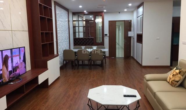 Cho thuê CHCC tại dự án CT4 Vimeco II Nguyễn Chánh, diện tích 150m2, 4PN, đủ đồ. LH: 0989848332