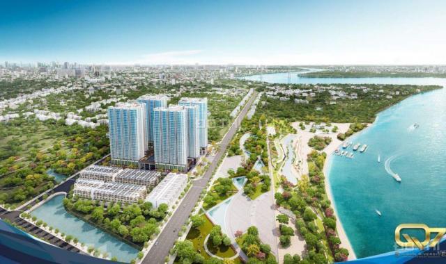 Cần bán nhanh căn hộ dự án Q7 Saigon Riverside U2.05 - 66m2 (2PN, 2WC), chênh thấp