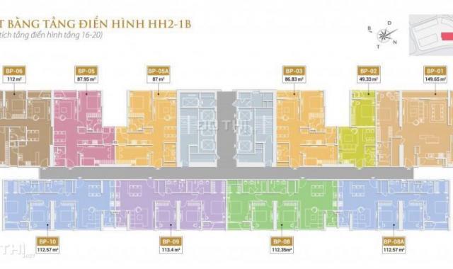 Mở bán chung cư cao cấp Golden Palace 2 - Mễ Trì (The Matrix One - Mễ Trì)