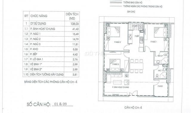 Chung cư IA20 Ciputra 92m2, giá gốc 16.8 tr/m2, chênh 80 tr. LH: 0382276666