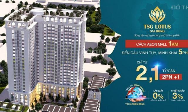 Hot, mở bán đợt 1 chung cư cao cấp liền kề Vinhomes Riverside, LS 0%, CK 3%. LH: 0944 288 802