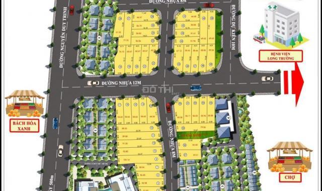 Dự án Phú Thành Riverside, MT Nguyễn Duy Trinh, SH riêng, CK 2 chỉ vàng