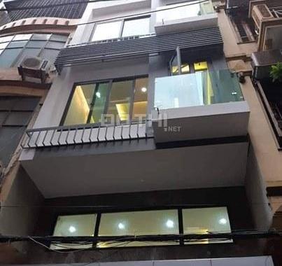 Bán nhà phân lô vip Hoàng Mai, DT 55m2 x 5T, ô tô tránh, gara 7 chỗ, giá 5,99 tỷ