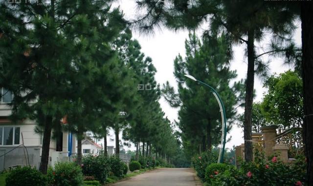 Bán biệt thự 200m2, giá tiền đất chỉ 19 tr/m2 nằm trên trục đường Tây Thăng Long, cách Hồ Tây 15p