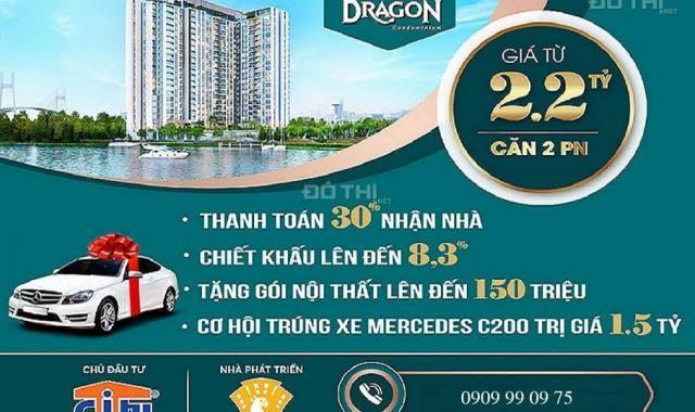 Bán căn hộ chung cư tại Dự án Thủ Thiêm Dragon, Quận 2, Hồ Chí Minh giá 1,3 Tỷ
