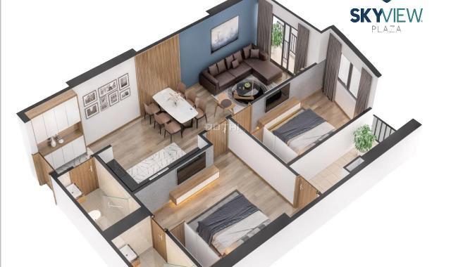 Sky View Plaza 360 Giải Phóng tâm điểm thị trường căn hộ cao cấp chỉ từ 31 tr/m2 full nội thất