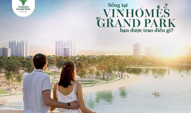 Mở bán dự án Vinhomes Grand Park quận 9, TP HCM với nhiều ưu đãi