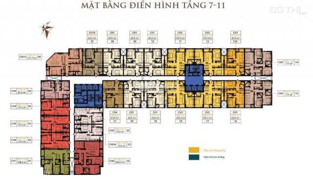 Tôi có nhu cầu bán lại căn 79m2, 2PN, tại E2 Trần Kim Xuyến, Yên Hòa - giá rẻ nhất thị trường