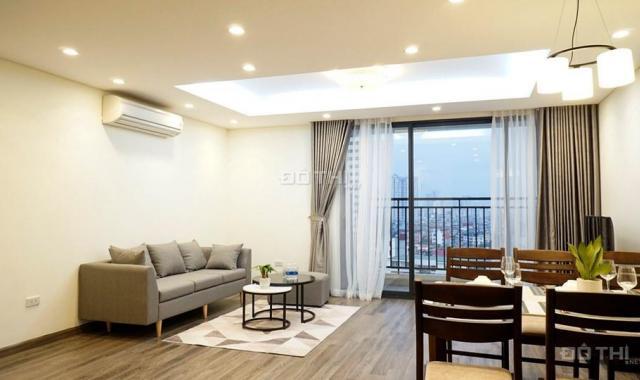 Cho thuê căn hộ CC Thống Nhất Complex Nguyễn Tuân, DT 95m2, 3 PN, full nội thất, giá thuê 14 tr/th