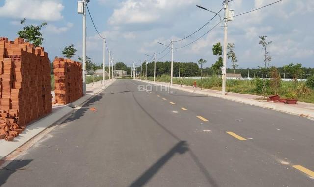 Bán gấp đất nền SHR TT Bàu Bàng, Bình Dương, giá chỉ từ 550 triệu/nền 75m2. Duyên 0901777595